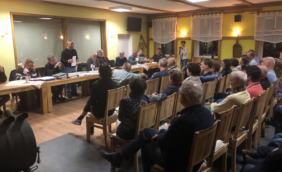 Bürgerversammlung Fusion Ludorf Vipperow